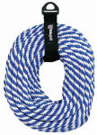 Wellington Cordage 44165 3/8-Inch x 50-Ft. Blue & White Derby Rope
