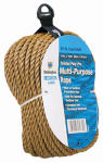 Wellington Cordage 25660 Pro-Line Polypropylene Rope, Brown, .25-In. x 100-Ft.