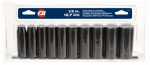 Campbell Hausfeld TL1031 11-Pc. 1/2-In. Metric Deep Socket Set