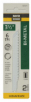 Disston 691014 2-Pack 3.5-Inch 6-TPI Bi-Metal/Cobalt Jigsaw Blade