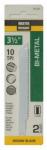 Disston 691022 2-Pack 3.5-Inch 10-TPI Bi-Metal/Cobalt Jigsaw Blade