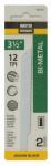 Disston 691030 2-Pack 3.5-Inch 12-TPI Bi-Metal/Cobalt Jigsaw Blade