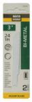 Disston 691055 2-Pack 3-Inch 24-TPI Bi-Metal/Cobalt Jigsaw Blade