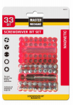 Disston 693575 Master Mechanic 33-Piece Screwdriver Bit Set