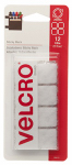 Velcro Usa Consumer Pdts 90073 Sticky Back Fasteners, White, 7/8-In. Squares, 12-Ct.