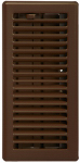 Imperial Mfg Group Usa RG3302 Contemporary Floor Register, Oil Rubbed Bronze, 4 x 10-In.