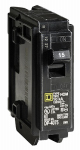 Square D By Schneider Electric HOM115C Homeline 15-Amp Single-Pole Circuit Breaker