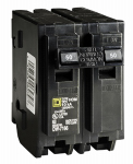 Square D HOM250C 50A Double Pole Circuit Breaker