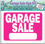 Hy-Ko Prod KIT-13 Garage Sale Sign Kit