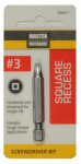 Disston 696677 Master Mechanic #3 Square Recessed 2-Inch Screwdriver Bit