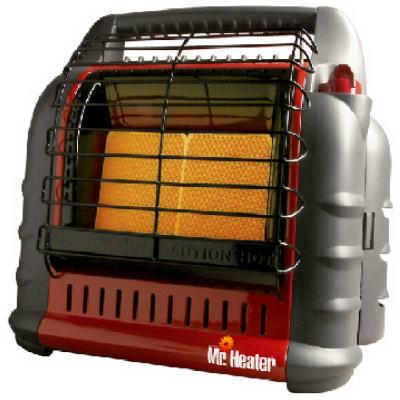 Mr Heater F274800 Big Buddy Propane Heater, 18,000-BTU