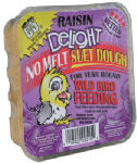 C & S Products 12515 Raisin Delight Suet Dough Cake, 11.75-oz.