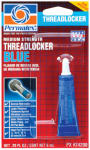 Itw Global Brands 21601 Blue Threadlocker, Medium-Strength, 6-mL