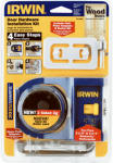 Irwin Industrial Tool 3111001 Carbon Door Lock Installation Kit
