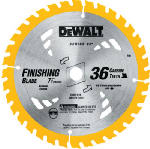 Dewalt Accessories DW3176 7.25-Inch 36-TPI Carbide Saw Blade