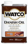 Rust-Oleum 65151H Watco Danish Oil Wood Finish, Golden Oak, 1-Pt.