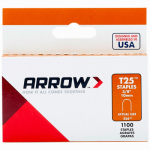 Arrow Fastener 256 Staple, 3/8-In., 1000-Pk.