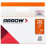 Arrow Fastener 259 1000-Pack T25 9/16-Inch Staple
