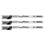 Robert Bosch Tool Group U101AO3 3-Pack 20-TPI High Carbide Steel Jigsaw Blade