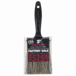 Wooster Brush Z1101-3 Factory Sale Gray Bristle Paintbrush, 3-Inch
