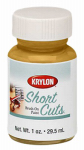 Krylon Diversified Brands SCB001 Short Cuts Brush On Paint, Gold Leaf Gloss, 1-oz.