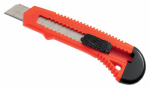Hangzhou Great Star Indust 704526 Plastic Snap Off Utility Knife, 8-Pt., 18-Mm.