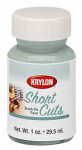 Krylon Diversified Brands SCB004 Short Cuts Brush On Paints, Chrome, 1-oz.