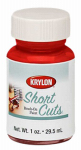 Krylon Diversified Brands SCB005 Short Cuts Brush On Paints, Red Pepper, 1-oz.