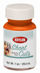 Krylon Diversified Brands SCB022 Short Cuts Brush On Paints, Glow Orange, 1-oz.