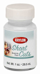 Krylon Diversified Brands SCB027 Short Cuts Brush On Paints, Flat White, 1-oz.