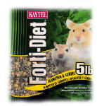 Kaytee Pet 100509718 Forti-Diet Hamster & Gerbil Food, 5-Lbs.