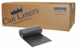 Berry Global 625121 50-Count 96-Gallon Black Can Liners