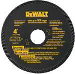 Dewalt Accessories DW4724 High-Performance Masonry Blade, 4-In.
