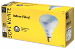 Globe Electric 70926 Reflector Floodlight Bulbs, 65-Watt, 3-Pk.