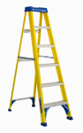 Louisville Ladder FS2006 6-Ft. Step Ladder, Fiberglass, Type I, 250-Lb. Duty Rating