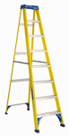 Louisville Ladder FS2008 8-Ft. Step Ladder - Fiberglass Type I 250-Lb. Duty Rating
