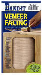 Veneer Technologies 12450 White Birch Paperback Real Wood Veneer Facing, 12-Inch x 48-Inch