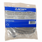 Abbott Rubber WD1609906 Washing Machine Drain Hose Hook, 1-In. x 6-Ft.