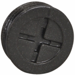 Hubbell Electrical Products PT-50-AL-BR Bronze 1/2-Inch Closure Plugs, 3-Pack