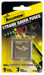 Cooper Bussmann BP/MAS-3A Holiday Mini Light Set Fuse, 3-Amp, 125-Volt, Must Purchase 5-Pk. In Quantities of 5