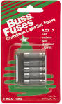 Cooper Bussmann BP-AGX-7X5 Glass Tube Christmas Light Fuse, Type AGX, 7-Amp, 125-Volt, Must Purchase 5-Pk. In Quantities of 5