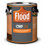 Flood/Ppg Architectural Fin FLD447-01 Clear Exterior Wood Finish, Gallon