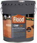 Flood/Ppg Architectural Fin FLD447-05 Wood Finish, Clear, 5-Gal.