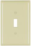 Pass & Seymour SPO1IU Ivory 1-Toggle Oversize Wall Plate