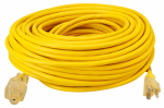 Southwire/Coleman Cable 01689 100-Ft. 12/3 SJEOW Yellow Contractor Grade Outdoor Extension Cord