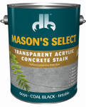 Duckback Products DB0060904-16 1-Gallon Coal Black Transparent Concrete Stain