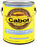 Cabot/Valspar 1806-05 1-Qt. Neutral Base Acrylic Decking Stain