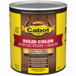 Cabot/Valspar 1808-05 1-Qt. Medium Base Acrylic Decking Stain