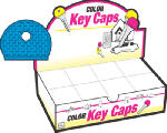Hy-Ko Prod KB134-200 200PK Colored Key Cap