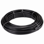 Raindrip 061010P Drip Watering Hose, Black Poly, 5/8-In. x 100-Ft.